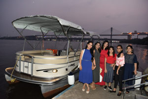 Private boat cruise in Goa