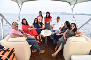 Private boat for hire in Goa